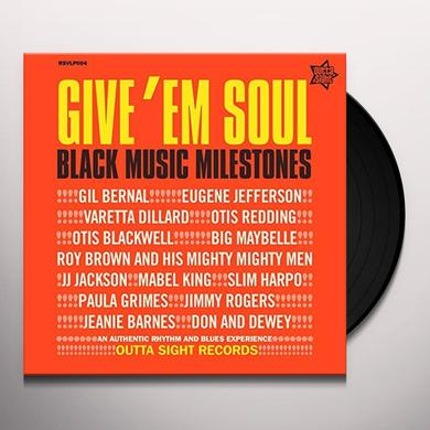 VOL. 1 GIVE EM SOUL / VARIOUS (UK) VOL. 1 GIVE EM SOUL / VARIOUS Vinyl Record - UK Import