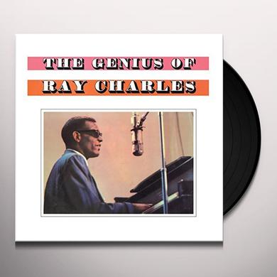 GENIUS OF RAY CHARLES Vinyl Record - UK Import