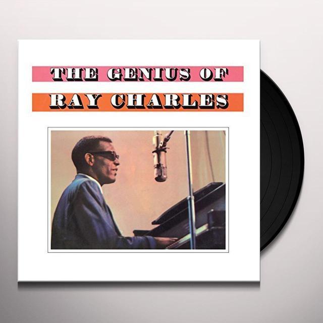 GENIUS OF RAY CHARLES Vinyl Record - UK Import