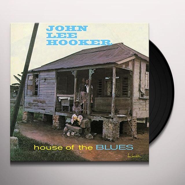 John Lee Hooker HOUSE OF THE BLUES Vinyl Record - UK Import