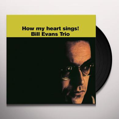 Bill Evans HOW MY HEART SINGS Vinyl Record - UK Import