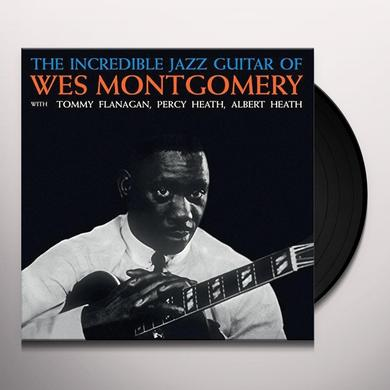 Wes Montgomery INCREDIBLE JAZZ GUITAR OF WES Vinyl Record - UK Import