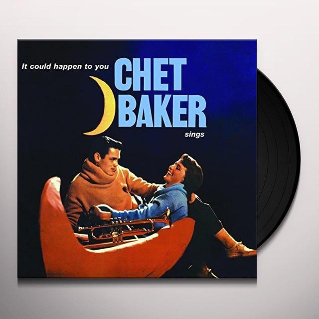 Chet Baker IT COULD HAPPEN TO YOU Vinyl Record - UK Import