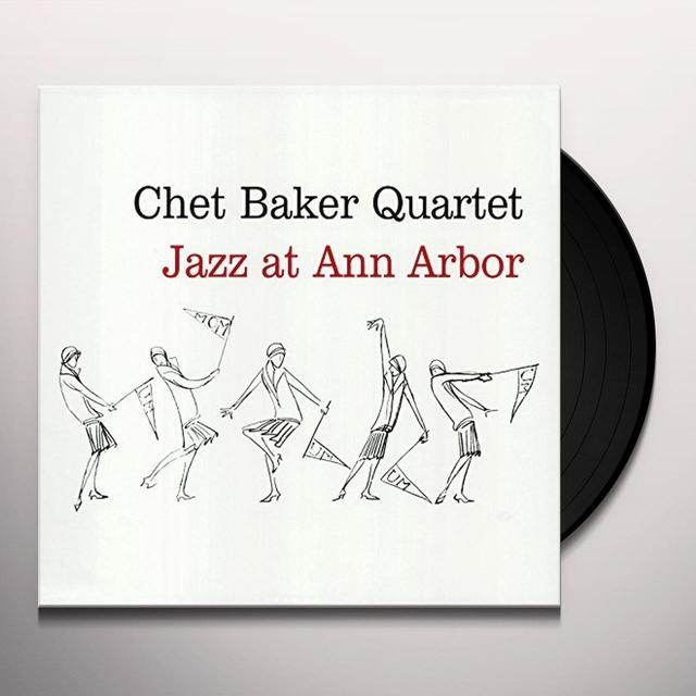 Chet Baker JAZZ AT ANN ARBOR Vinyl Record - UK Import