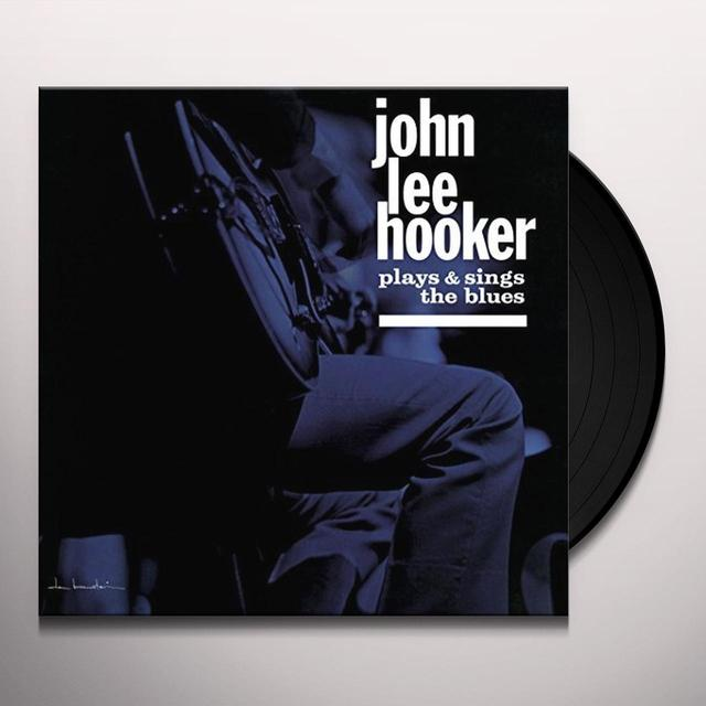 John Lee Hooker PLAYS & SINGS THE BLUES Vinyl Record - UK Import