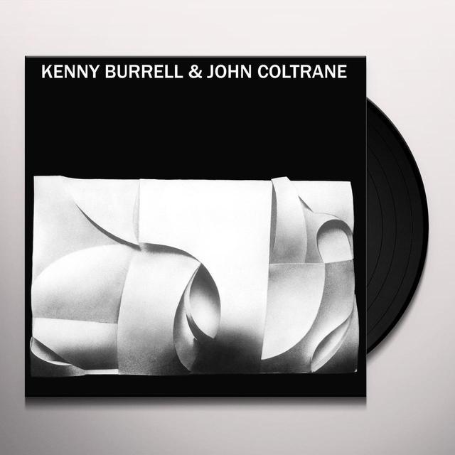 KENNY BURRELL & JOHN COLTRANE Vinyl Record - UK Release