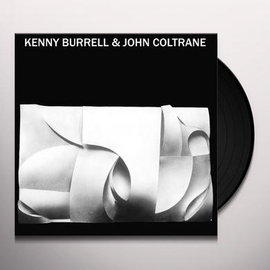 KENNY BURRELL & JOHN COLTRANE Vinyl Record - UK Import