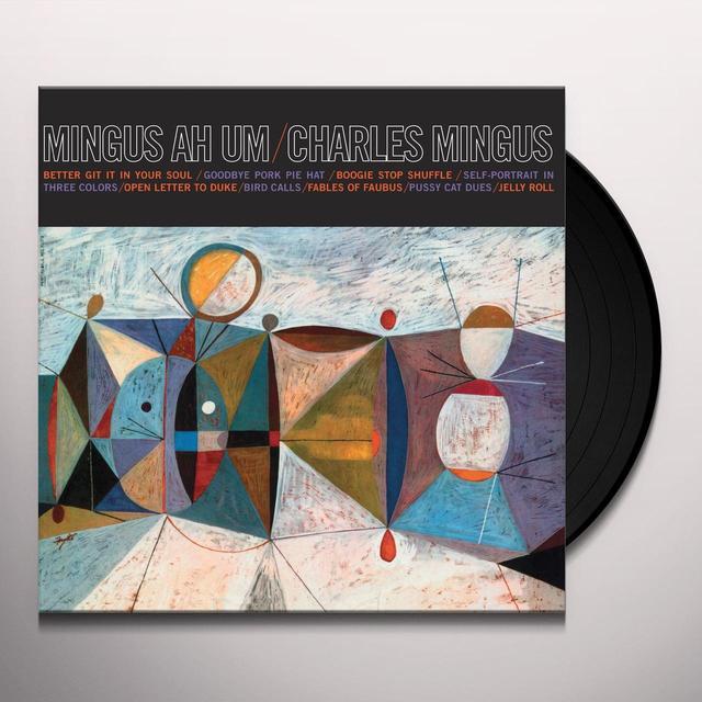 Charles Mingus MINGUS AH UM Vinyl Record - UK Import