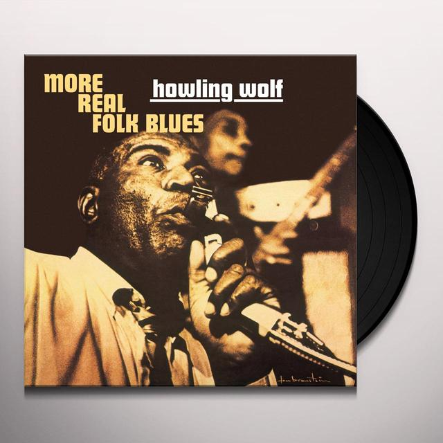 Howlin Wolf MORE REAL FOLK BLUES Vinyl Record - UK Import