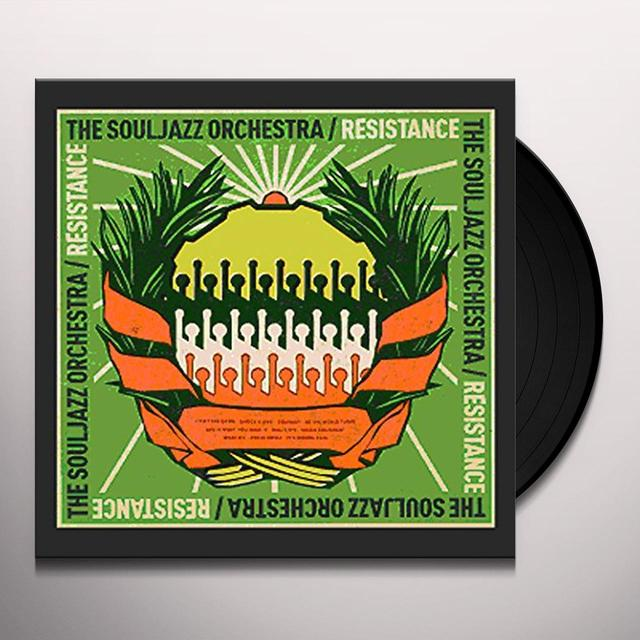 The Souljazz Orchestra RESISTANCE Vinyl Record - UK Import