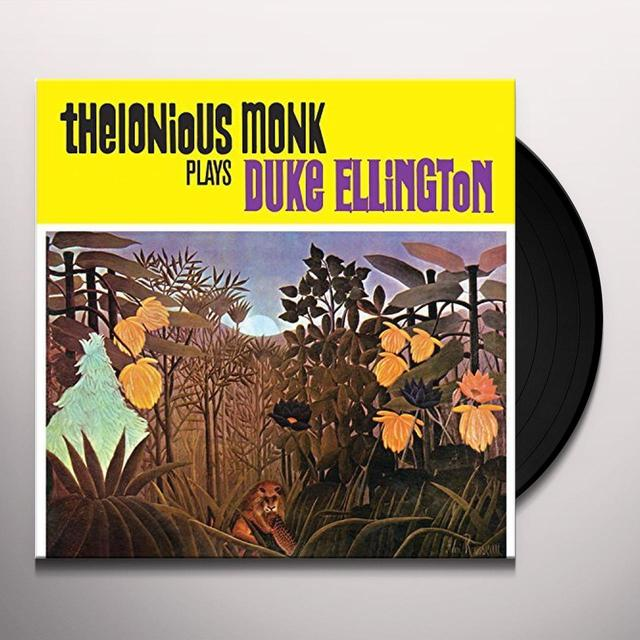 Thelonious Monk PLAYS DUKE ELLINGTON Vinyl Record - UK Import