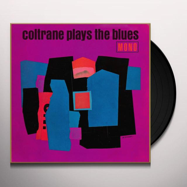 John Coltrane PLAYS THE BLUES Vinyl Record - UK Import