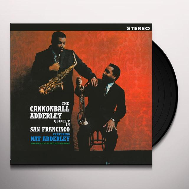 Cannonball Adderley QUINTET IN SAN FRANCISCO Vinyl Record - UK Import