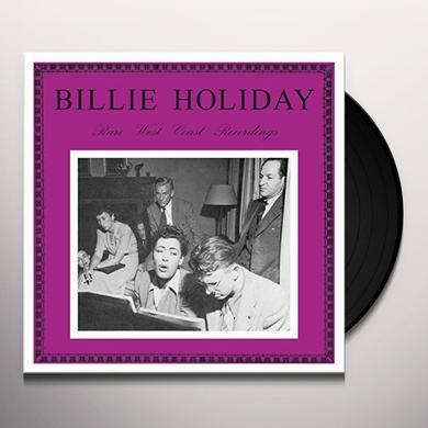 Billie Holiday RARE WEST COAST RECORDINGS Vinyl Record - UK Import