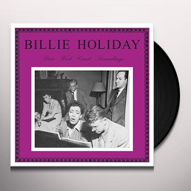 Billie Holiday RARE WEST COAST RECORDINGS Vinyl Record - UK Import