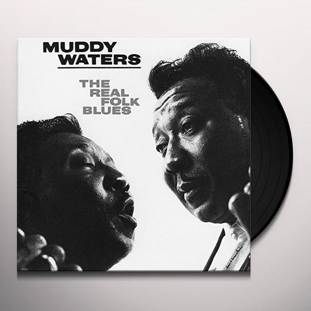 Muddy Waters REAL FOLK BLUES Vinyl Record - UK Import