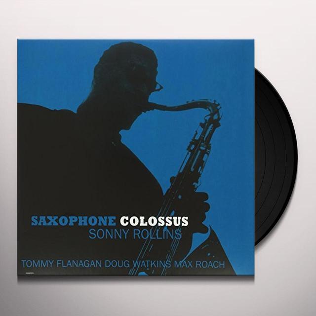Sonny Rollins SAXOPHONE COLOSSUS Vinyl Record - UK Import