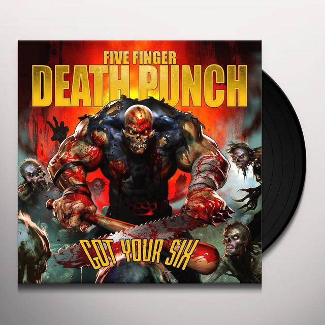 five finger death punch got your six vinyl record. Black Bedroom Furniture Sets. Home Design Ideas