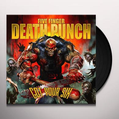 Five Finger Death Punch GOT YOUR SIX Vinyl Record
