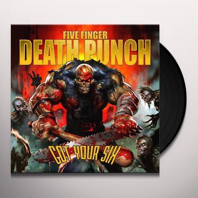 Five Finger Death Punch GOT YOUR SIX Vinyl Record - UK Import