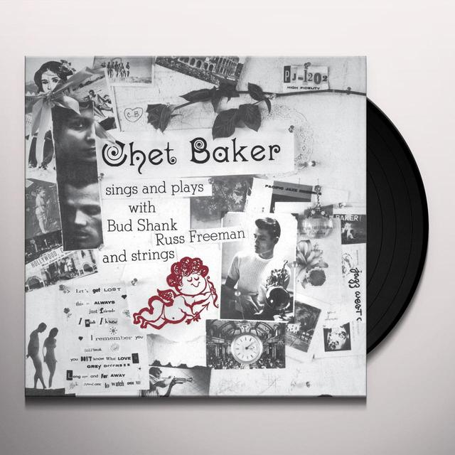 Chet Baker SINGS & PLAYS Vinyl Record