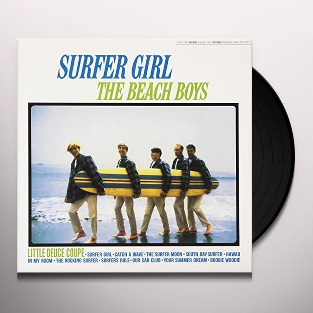 The Beach Boys SURFER GIRL Vinyl Record - UK Import