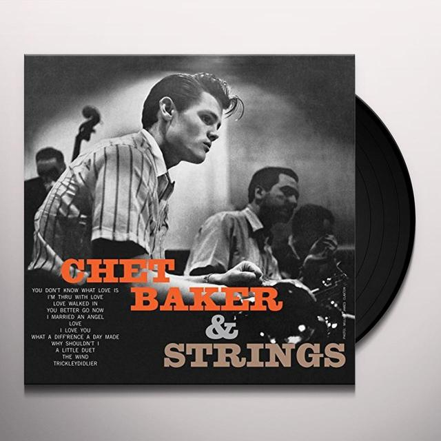 Chet Baker WITH STRINGS Vinyl Record - UK Import