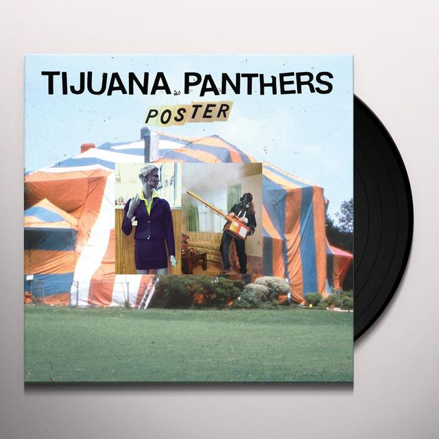 Tijuana Panthers POSTER Vinyl Record - UK Release