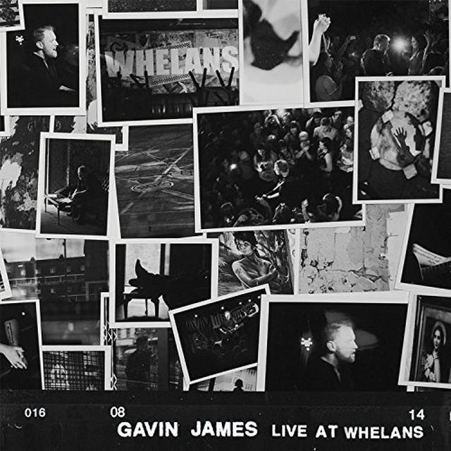 Gavin James LIVE AT WHELANS Vinyl Record