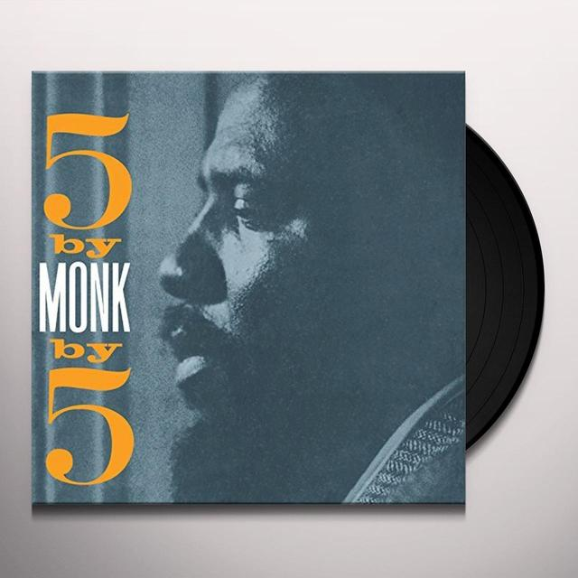 Thelonious Monk 5 BY 5 BY MONK Vinyl Record - UK Import
