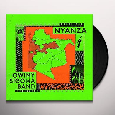 Owiny Sigoma Band NYANZA Vinyl Record - UK Release