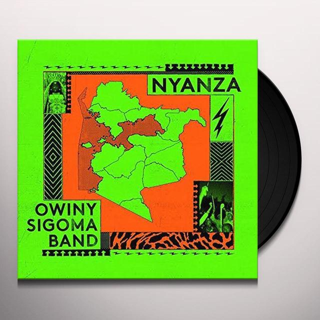 Owiny Sigoma Band NYANZA Vinyl Record - UK Import