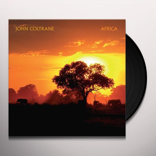 John Coltrane AFRICA Vinyl Record - UK Import