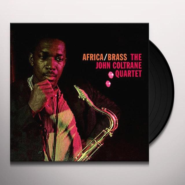 John Coltrane Quartet AFRICA/BRASS Vinyl Record - UK Import