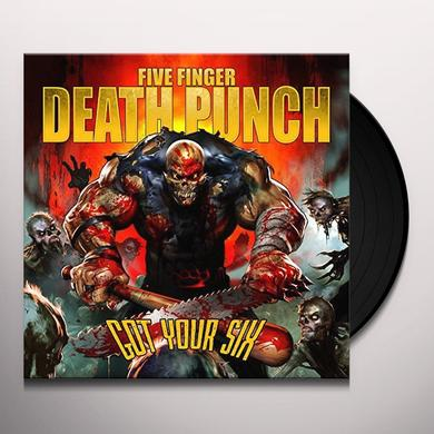 Five Finger Death Punch GOT YOUR SIX Vinyl Record - UK Release