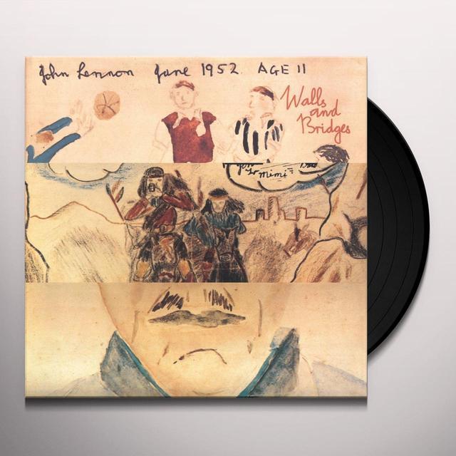 John Lennon WALLS & BRIDGES Vinyl Record