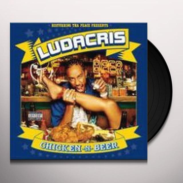 Ludacris CHICKEN N BEER Vinyl Record