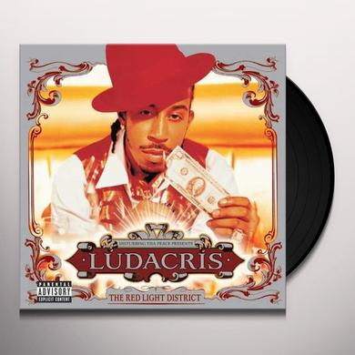 Ludacris RED LIGHT DISTRICT Vinyl Record