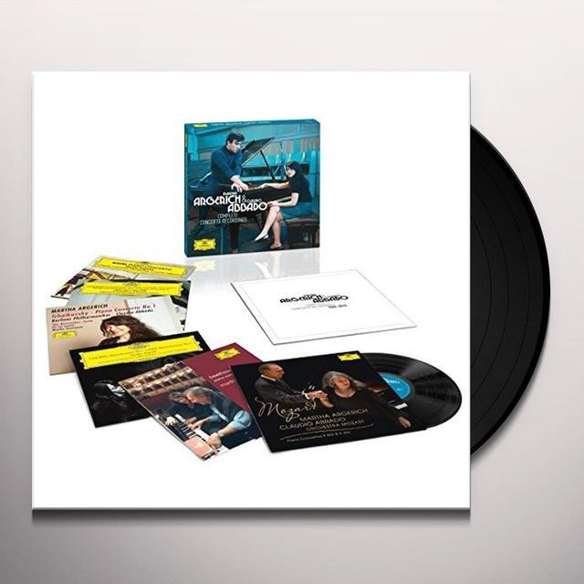 ARGERICH / ABBADO COMPLETE CONCERTO RECORDINGS Vinyl Record