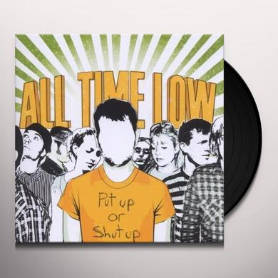 All Time Low PUT UP OR SHUT UP Vinyl Record