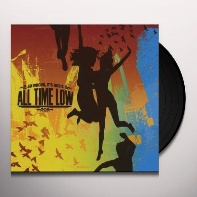All Time Low SO WRONG IT'S RIGHT Vinyl Record