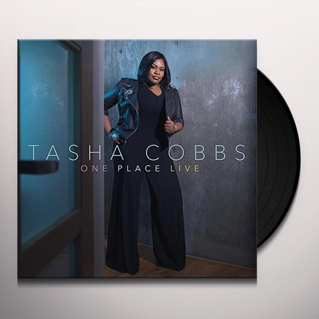 Tasha Cobbs ONE PLACE LIVE (LIVE IN GREENSVILLE SC/2015) Vinyl Record