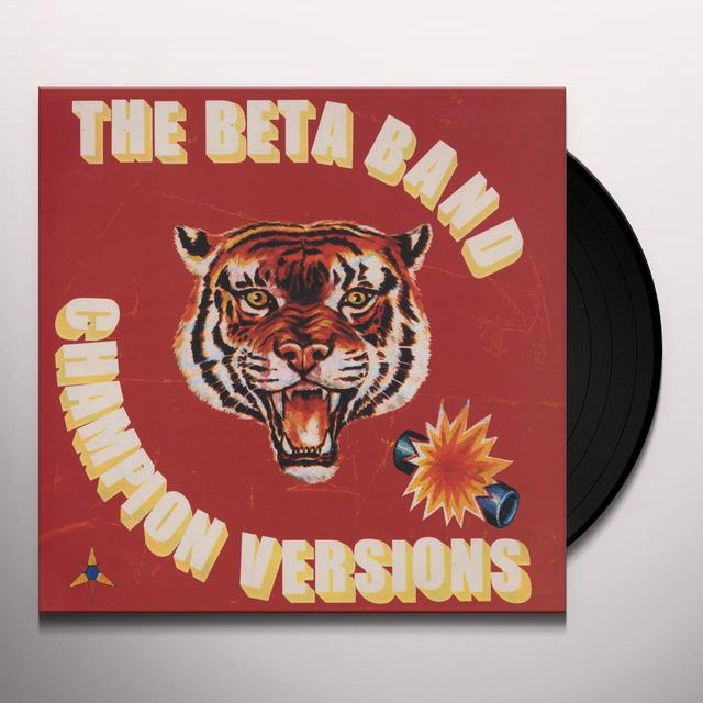 The Beta Band CHAMPION VERSIONS (EP) Vinyl Record