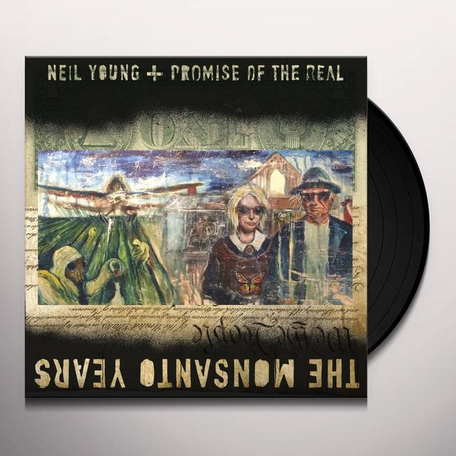 Neil Young / Promise Of The Real MONSANTO YEARS Vinyl Record