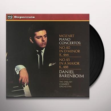 Teresa Berganza/English Chamber Orchestra/Daniel Barenboim MOZART PIANO CONCERTOS Vinyl Record