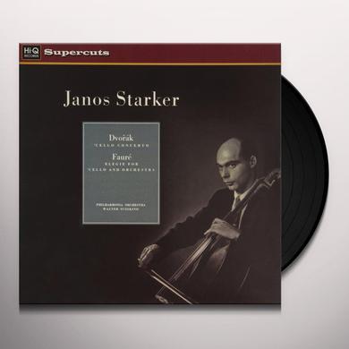 János Starker/Philharmonia Orchestra/Walter Susskind DVORAK & FAURE Vinyl Record