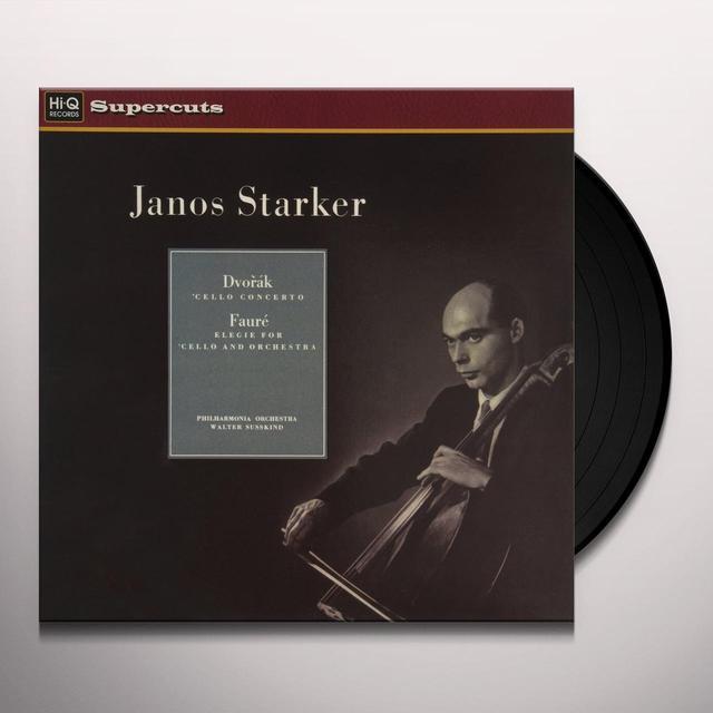 János Starker/Philharmonia Orchestra/Walter Susskind DVORAK & FAURE Vinyl Record - 180 Gram Pressing