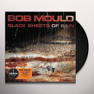 Bob Mould BLACK SHEETS OF RAIN Vinyl Record - UK Import
