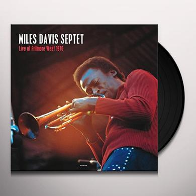 Miles Davis Septet LIVE AT FILLMORE WEST 1970 Vinyl Record