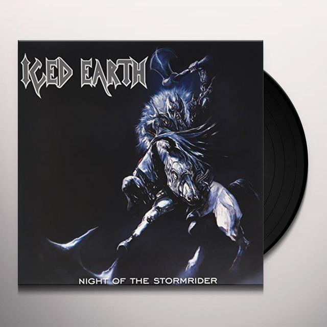 Iced Earth NIGHT OF THE STORMRIDER Vinyl Record - Gatefold Sleeve, Reissue